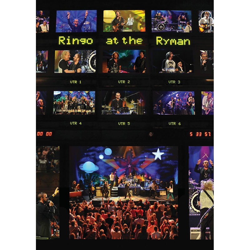 Ringo Starr and His All Star Band - Ringo at the Ryman - DVD