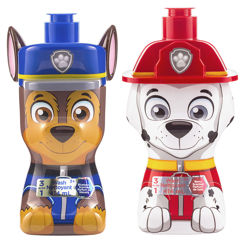 Paw Patrol 3 in 1 Wash - Assorted - 414ml