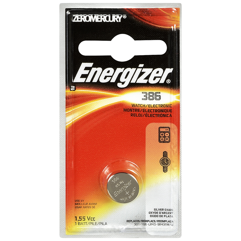 Energizer Watch/Electronic Batteries - 386BPZ