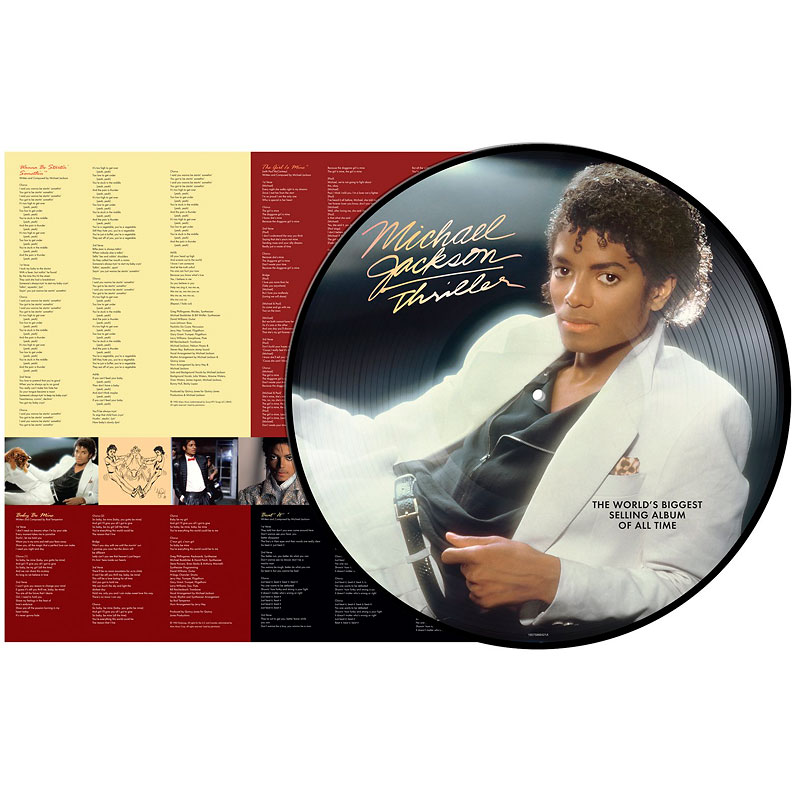 Michael Jackson - Thriller: Limited Picture Disc - 180g Vinyl
