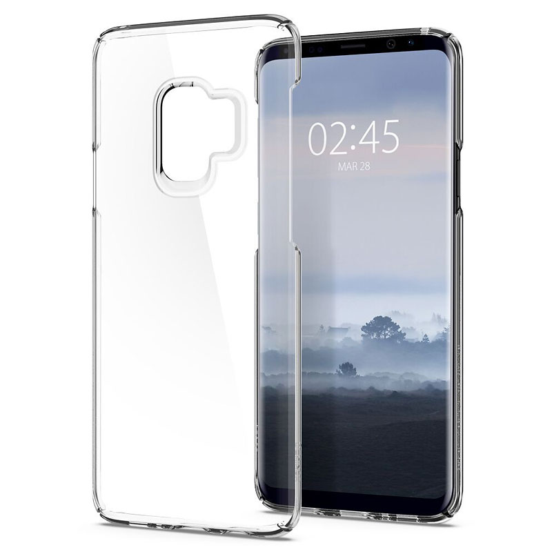 Spigen Thin Fit Crystal Case for Samsung Galaxy S9 - Clear - SGP592CS22874