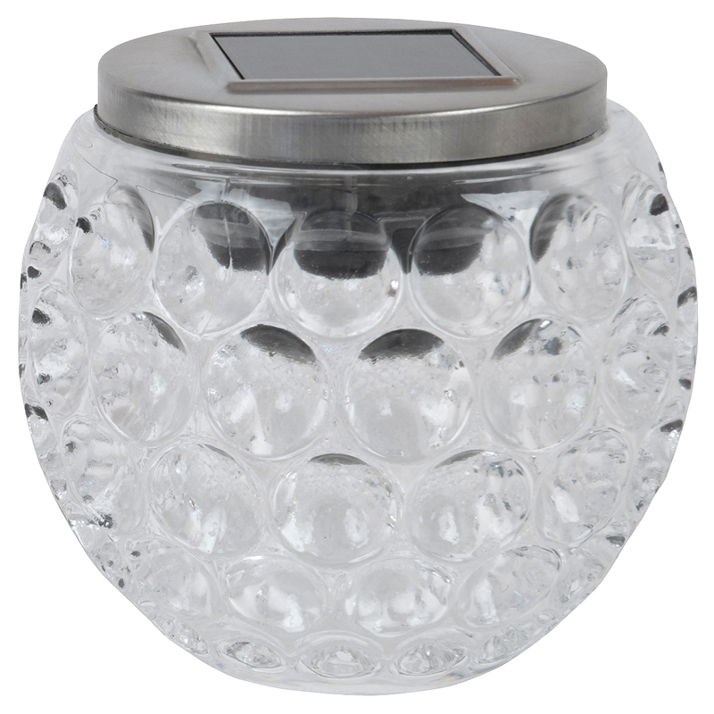 Fusion Solar Glass Jar - 24623 - Assorted
