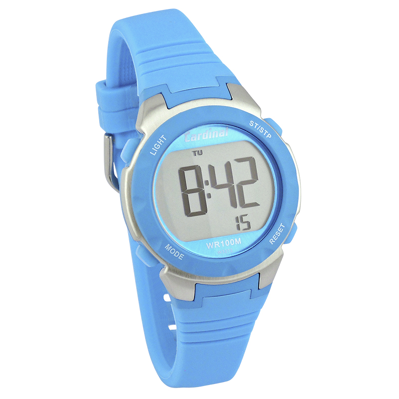 Cardinal Ladies Sport Watch - Blue/Silver - 3272