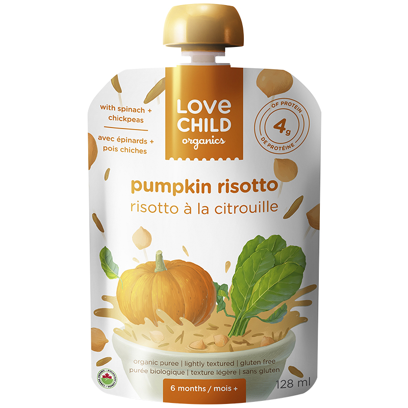 Love Child Pumpkin Risotto - 128 ml