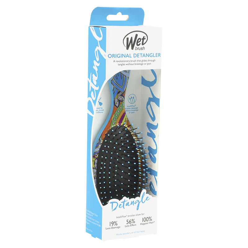 Wet Brush Original Detangler Brush Gypsy - Blue