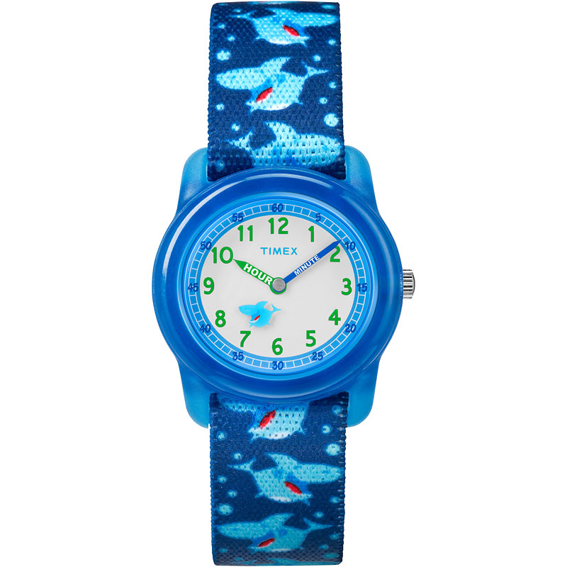 Timex Kids Analogue Watch - Blue - TW7C135002Y