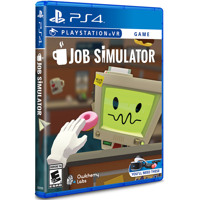 PSVR Job Simulator