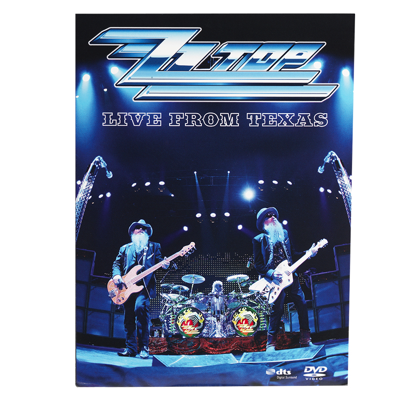 ZZ Top: Live From Texas - DVD