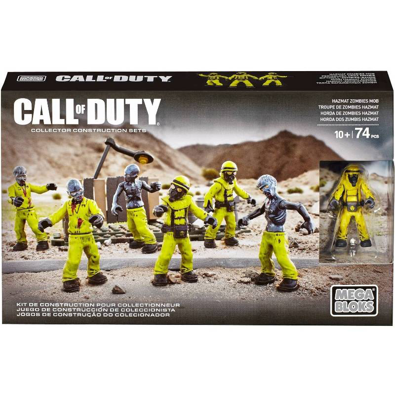Mega Bloks Call of Duty - Hazmat Zombie Mob