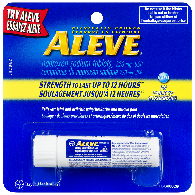 Aleve Caplets - 220mg - 10's