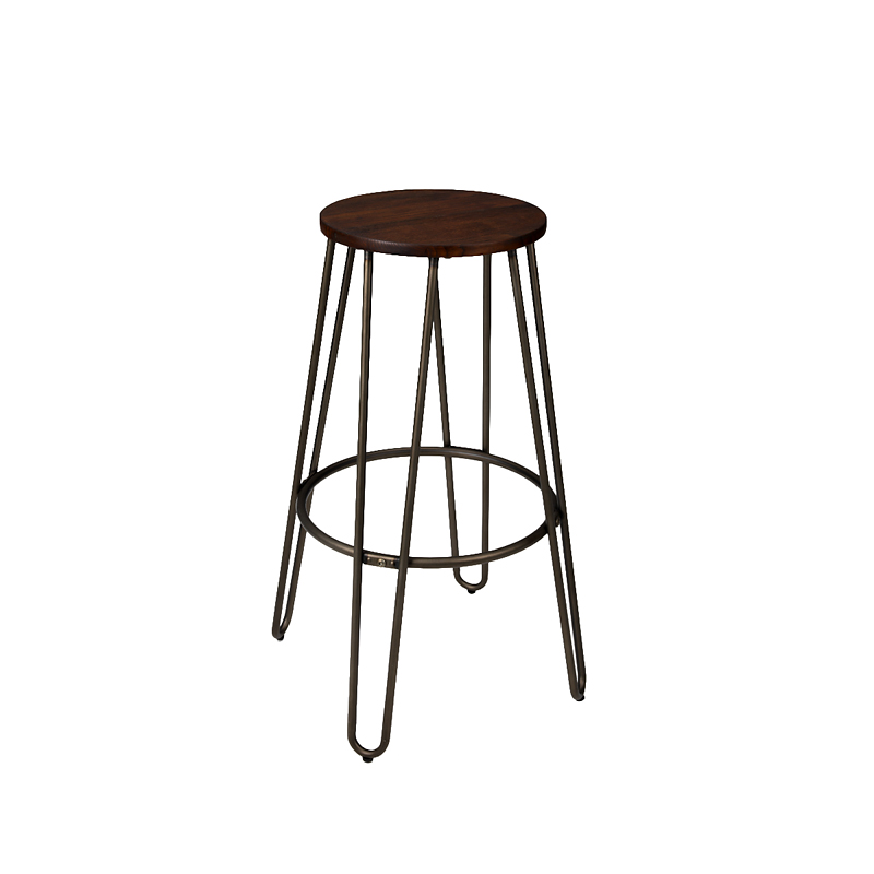 London S Elmwood Bar Stool With Metal Legs 39 X 76cm