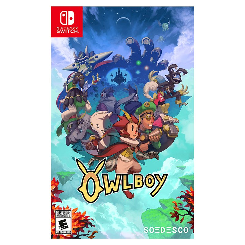 Nintendo Switch Owlboy
