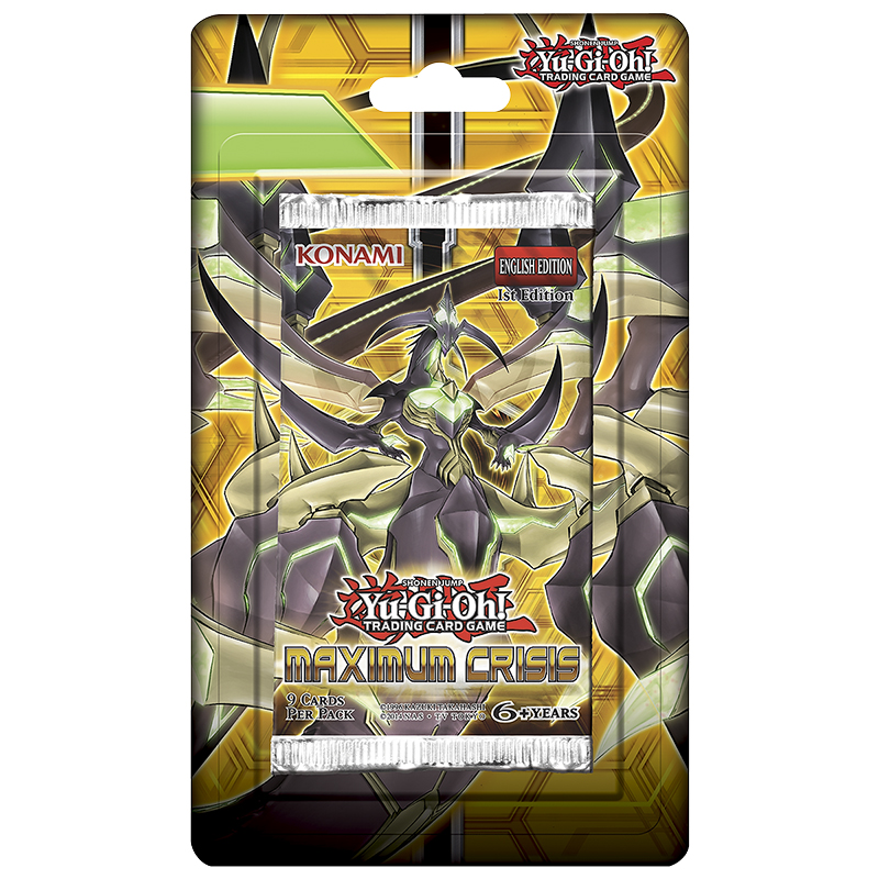 Yu-Gi-Oh Maximum Crises Blister Pack