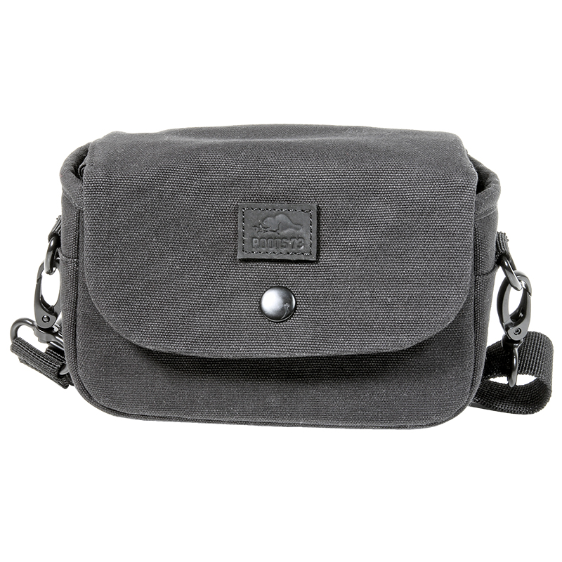 Roots 73 Flannel Collection Shoulder Bag - Black - RB10