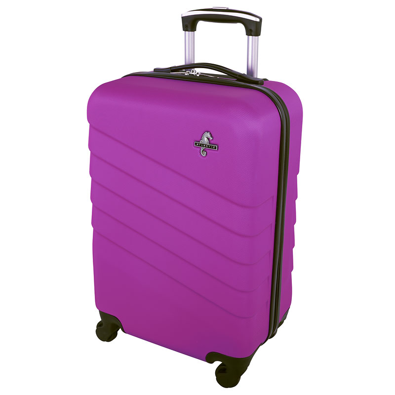 "Atlantic Expandaire Collection 20"" Hardside Luggage - Purple"