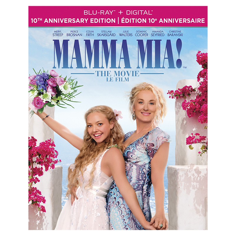 Mamma Mia! The Movie - 10th Anniversary Edition - Blu-ray