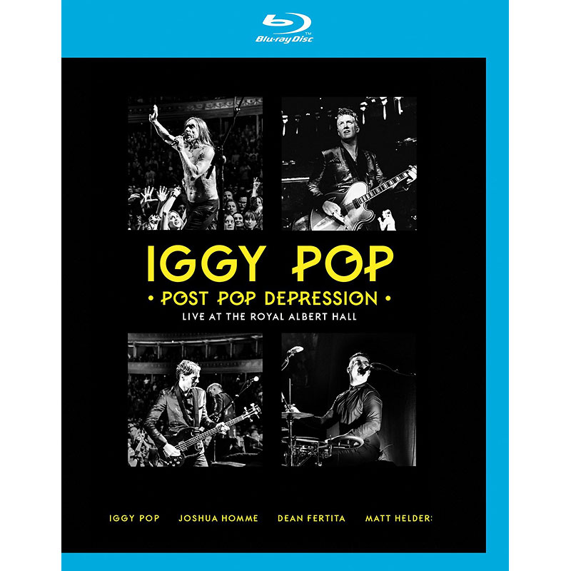 Iggy Pop - Post Pop Depression: Live at the Royal Albert Hall - Blu-ray