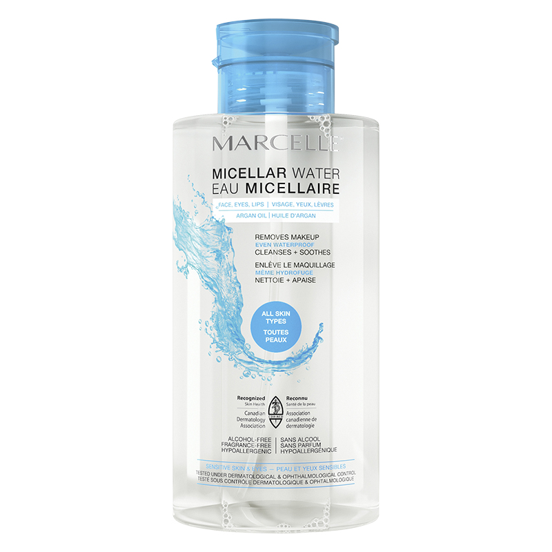 Marcelle Micellar Water for Waterproof Makeup - All Skin Types - 400ml