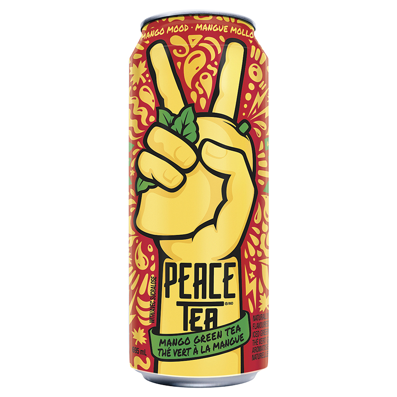 Peace Tea Iced Tea - Mango Green Tea - 695Ml