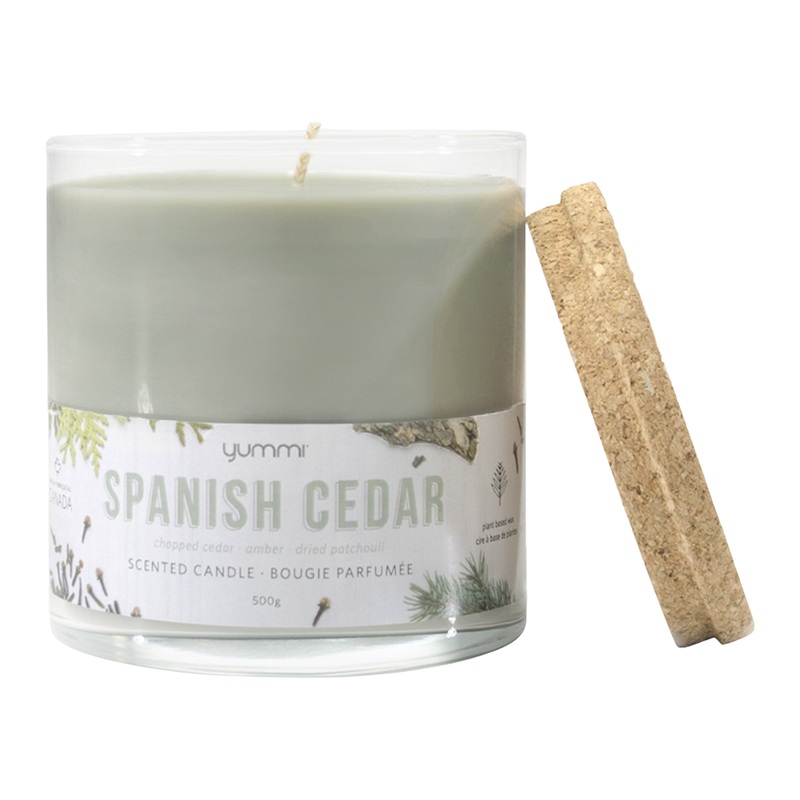 Yummi Jar Candle - Spanish Cedar - 18oz