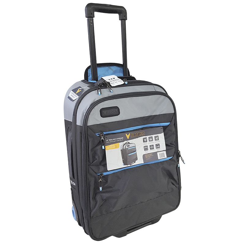 Bondka Rolling Luggage - Grey - 22""