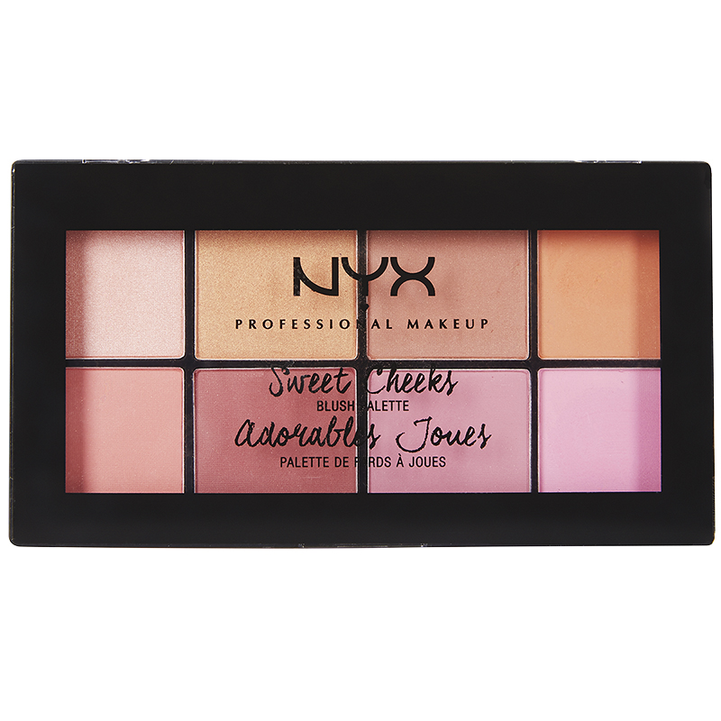 NYX Professional Makeup Sweet Cheeks Blush Palette - Sweet Cheeks
