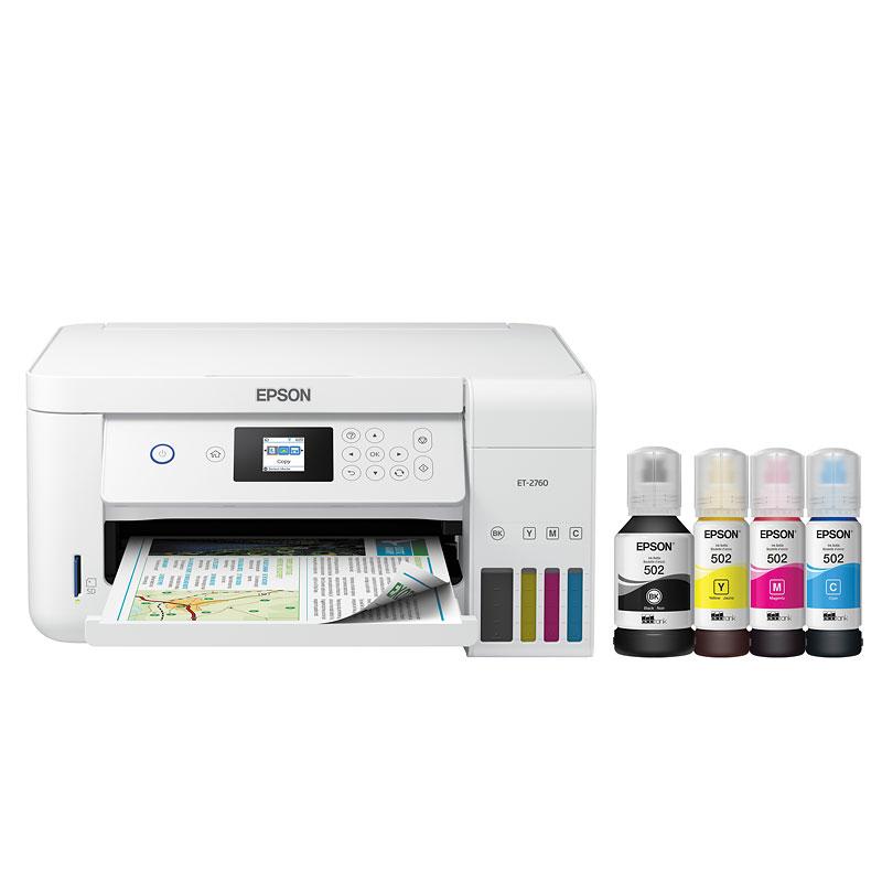 Epson Expression ET-2760 EcoTank All-in-One Supertank Printer - C11CG22203