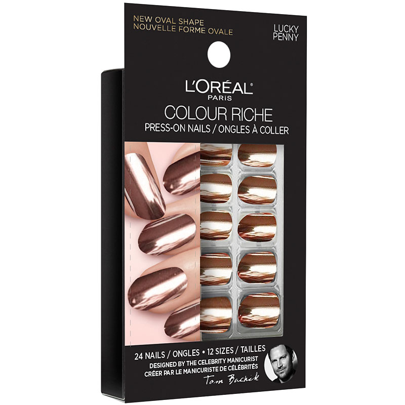 L'Oreal Colour Riche Press On Nails - Lucky Penny