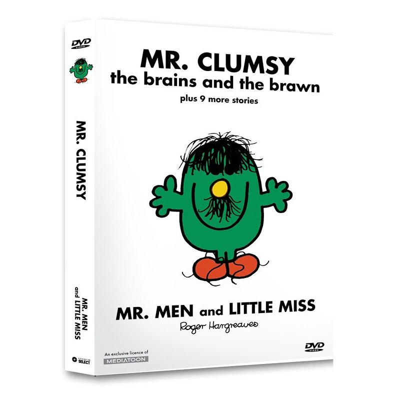 Mr. Clumsy: The Brains And The Brawn - DVD