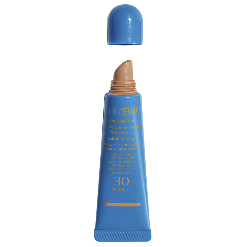 Shiseido UV Lip Color Splash Broad Spectrum SPF30 - Nairobi Orange