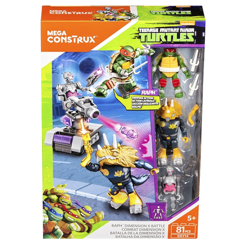 Teenage Mutant Ninja Turtles - Raph Dimension X Battle