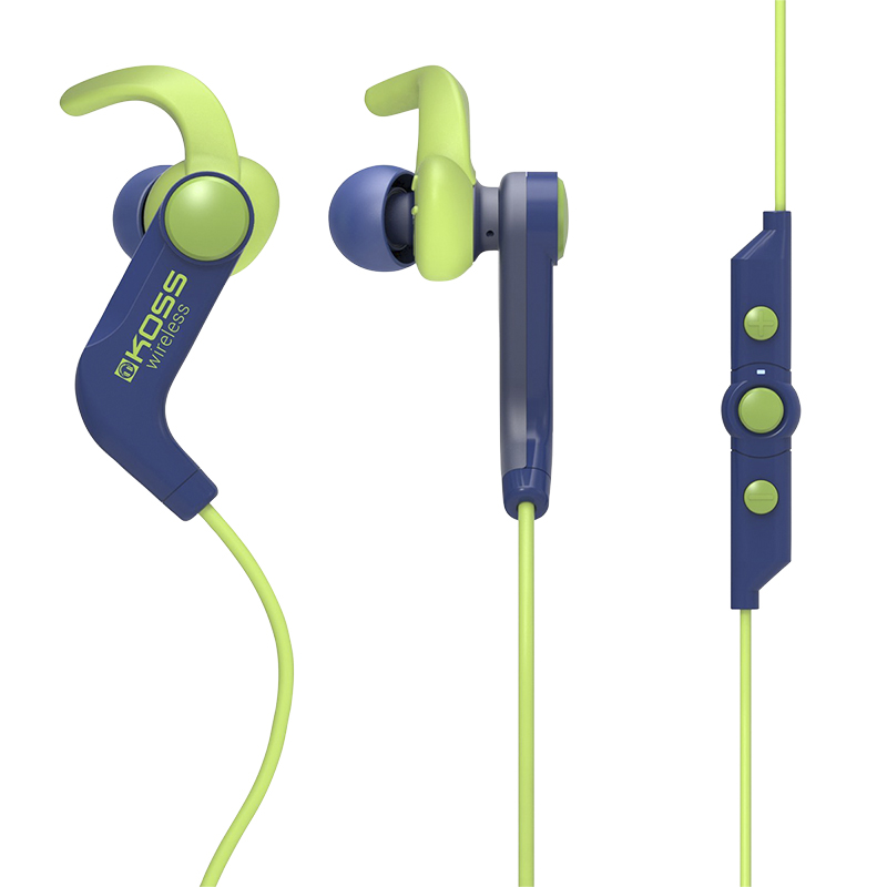 Koss Bluetooth In-Ear Headphones - Blue - BT190IB