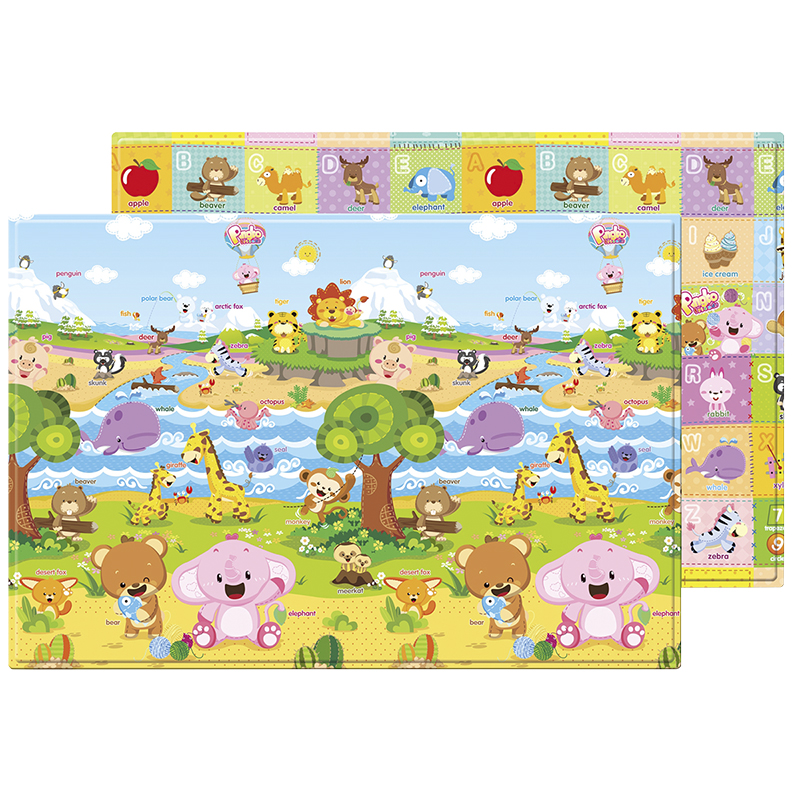 Baby Care Soft Playmat - Pingko & Friends - Large