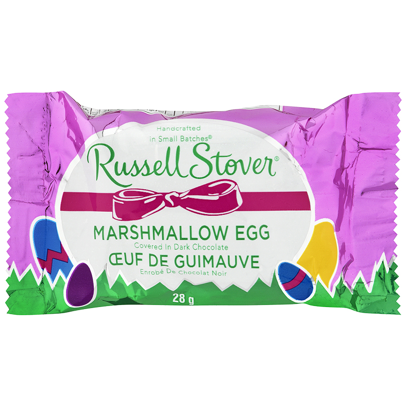 Russel Stover Dark Chocolate Mallow Egg - 28g