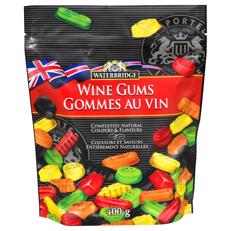 Waterbridge Wine Gums - 400g