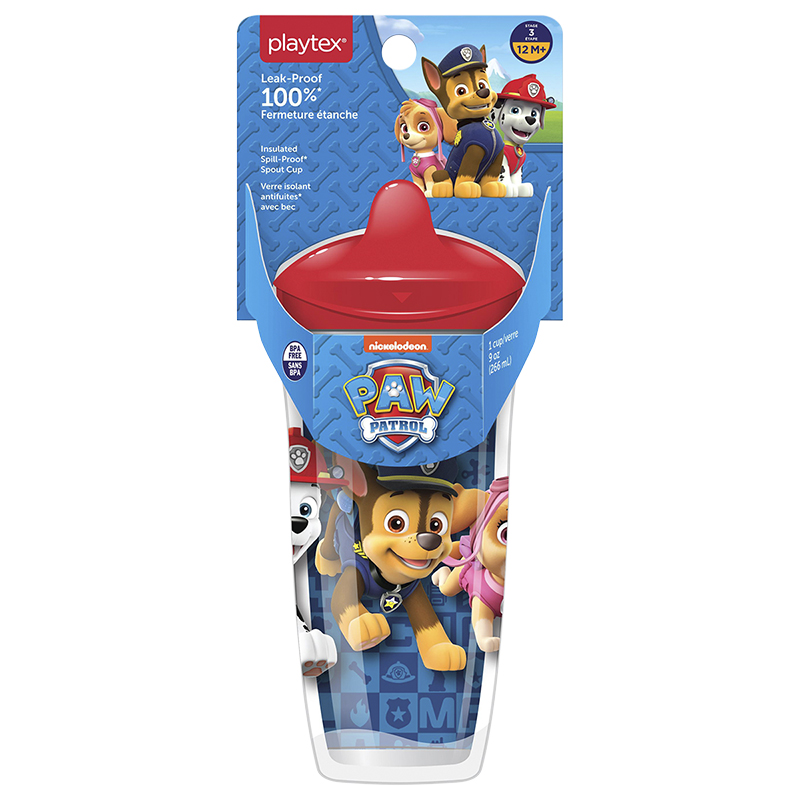 Playtex Spout Cup - Paw Patrol - 266ml - 12+ months