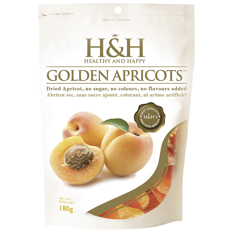 H&H Golden Apricots - Dried - 180g