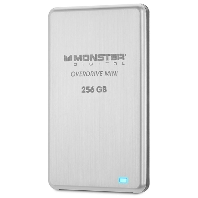 Monster 256GB OverDrive Mini SSD External Drive - SSDOM-0256-A
