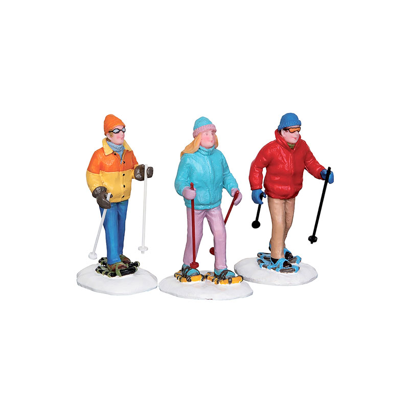 Lemax Snowshoe Walker - Set of 3