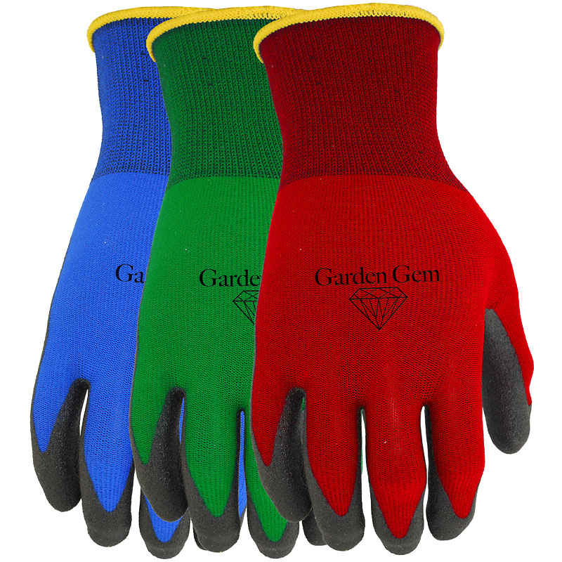 Watson PVC Coated Garden Gem Gloves - Assorted - 348