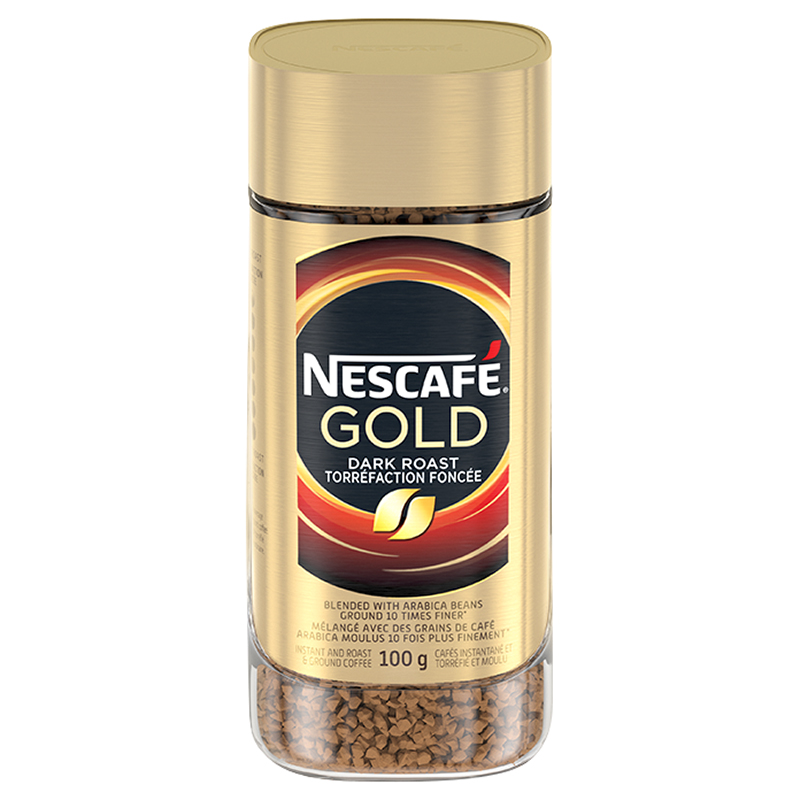 Nescafe Gold Instant Coffee - Dark Roast - 100g