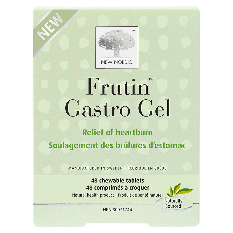 New Nordic Frutin Gastrol Gel Chewable Tablets - 48's