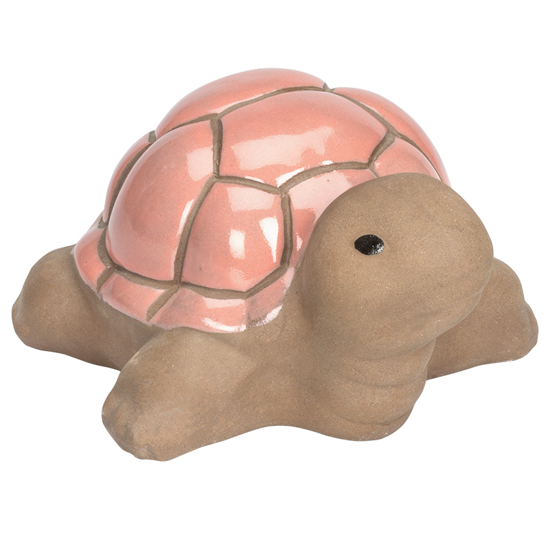 Fontina Ceramic Garden Turtle - Small - Assorted