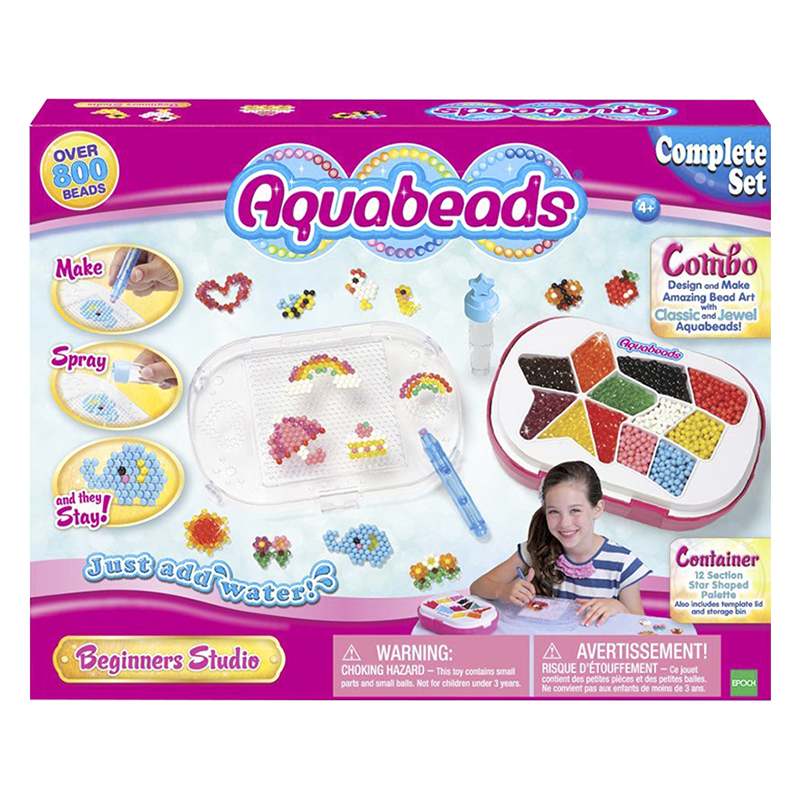 Aquabeads Beginners Studio Bead Art Set