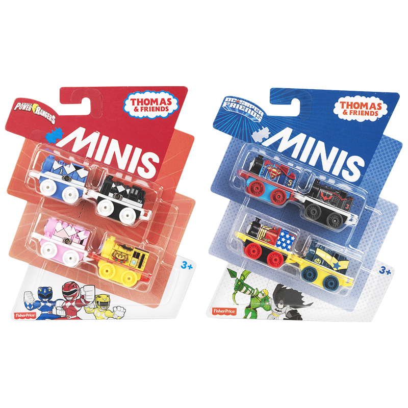 Thomas & Friends Mini Licensed Engine - Assorted - 4 pack