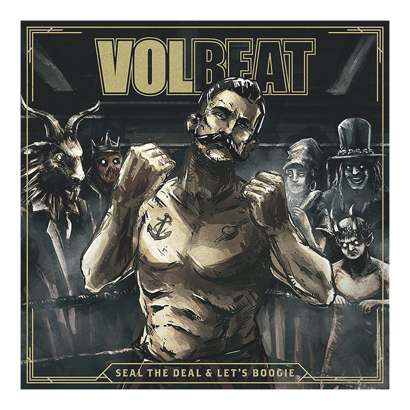 Volbeat - Seal the Deal and Let's Boogie - Vinyl