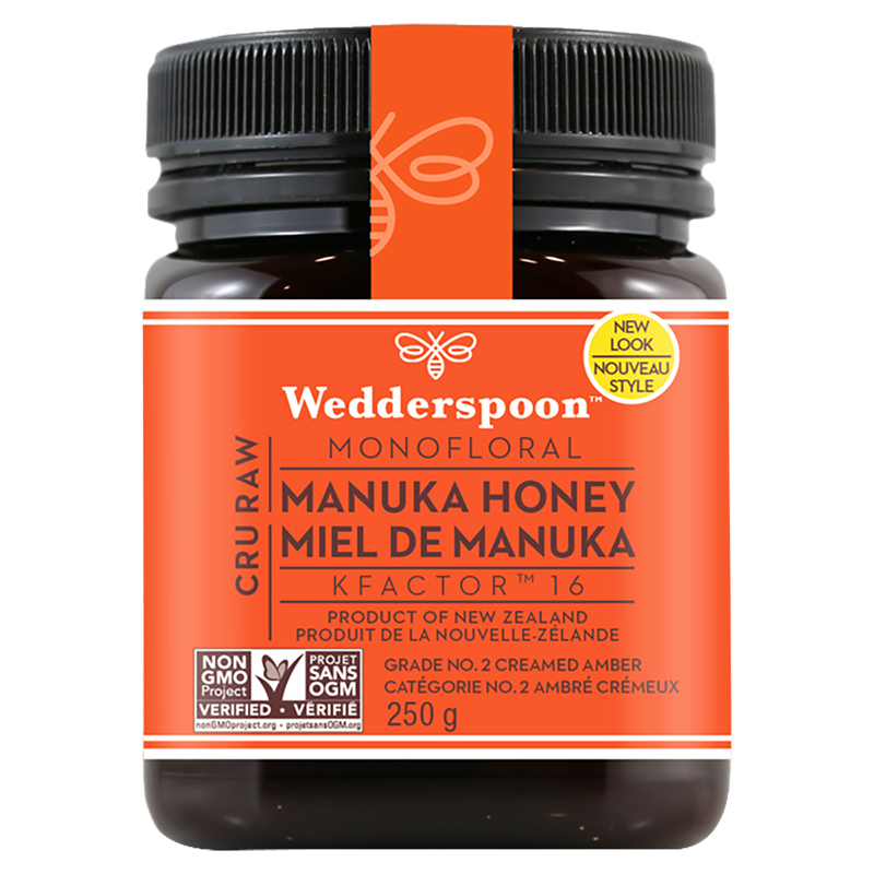 Wedderspoon 100% Raw Manuka Honey - 250g
