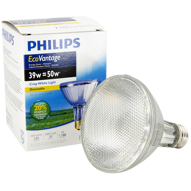 Philips EcoVantage PAR30 Flood Light - Crisp White