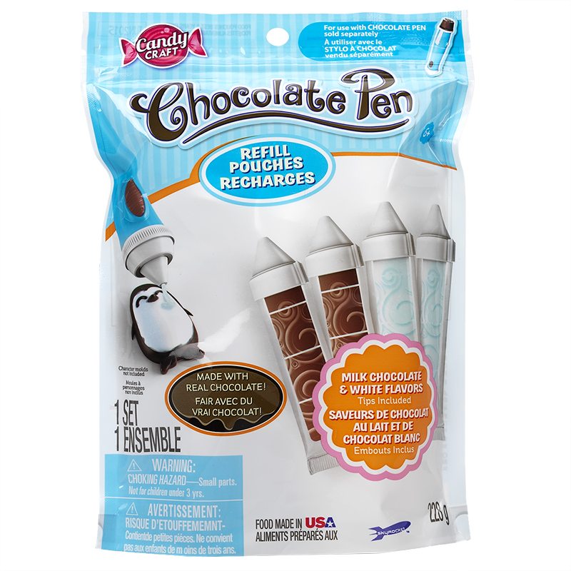 Candy Craft Chocolate Pen Refill - Milk