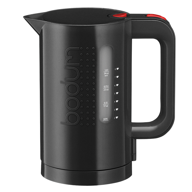 Bodum Bistro Water 1L Kettle - Black - 11452-01US